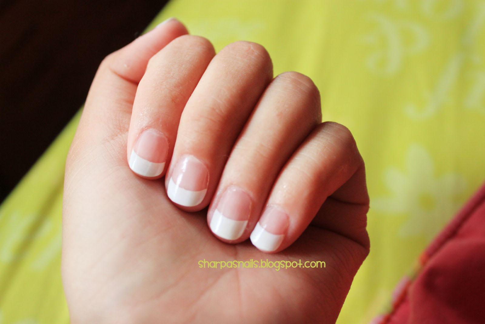 Sharp As Nails (A Nail Art Blog): French Manicure Acrylic ...